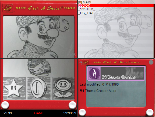 Thumbnail 1 for Etch-A-Sketch Mario